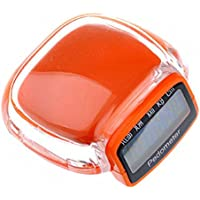 Digitale Contapassi Walking Passo Run distanza calorie Counter Fitness Cintura Clip (Fitness Trainer Heart Rate Monitor)
