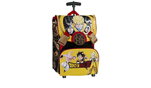 auguri preziosi dragon ball z school backpack with wheels expandable multi amazoncouk luggage