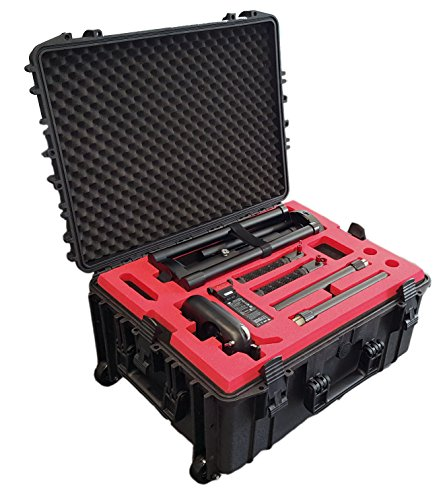 MC-CASES ® Professioneller Transport Koffer Trolley für DJI Ronin MX mit viel Platz auf 3 Ebenen - Made in Germany
