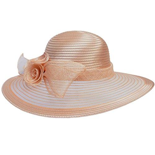 Sombrero de ala ancha de Lawliet para mujer f7b8b68a616