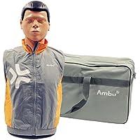 Ambu 1865 Man Basic Trainingspuppe mit einer Gesichtsmaske, 25 Luftbeuteln und Tragetasche preisvergleich bei billige-tabletten.eu