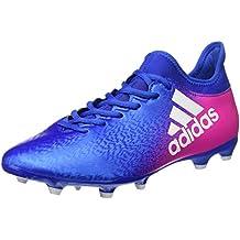 adidas X 16.3 FG - Botas de fútbol para Hombre, Azul - (AZUL/FTWBLA/ROSIMP) 44