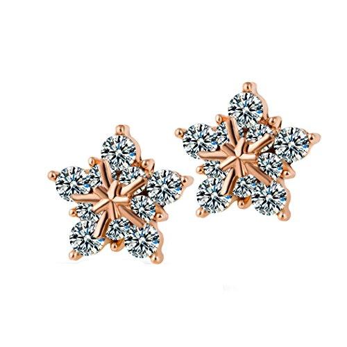 yc-de-charme-star-oxyde-de-zirconium-18-k-plaque-or-rose-boucles-doreilles-clous-lady