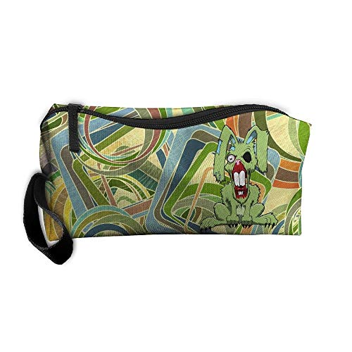 Bag/Travel Cosmetic Bag/Brush Pouch Case With Zipper Carry Case ()