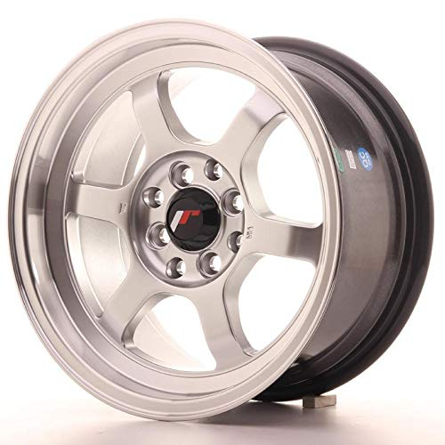 Japan Racing Felge 17 JR12 17x8 ET35 5x114.3/118/100/110/120/115/108/112/105 4x114.3/108/100 Silber (5x105 Felgen)