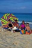 783053 Family Relaxing On Beach Fuerteventura Spain A4