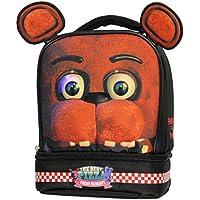 Preisvergleich für fnaf Soft Kit Dual Fach Lunch Box Kühltasche Fünf Nächte bei Freddy fazbear mit Ohren