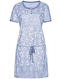 Mey Elena Nachthemd mit Taillenzug Damen