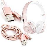 DURAGADGET Câble de synchronisation Rose Gold Micro USB pour Beats by Dr Dre Studio...