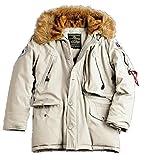 Alpha Industries - Polar Winterjacke Off White (XL)