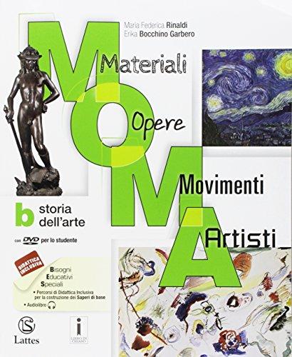 M.O.M.A. Materiali-opere-movimenti-artisti. Per la Scuola media. Con e-book. Con espansione online. Con 2 libri: Album-Mi preparo per l'interrogazione: A-B-C
