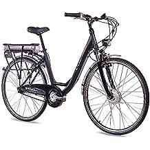 28 pulgadas City Cilindro de aluminio bicicleta E-Bike Pedelec CHRISSON S de Lady.
