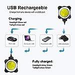 Luci-per-Bicicletta-Luci-Bici-650mAh-USB-Ricaricabile-Impermeabile-LED-Faro-e-Fanale-Posteriore4-Modalit-Batterie-InclusiveUsare-Come-Caricabatterie-Portatile
