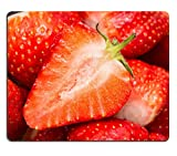 Liili Mauspad Naturkautschuk Mousepads Fresh reifer Erdbeeren in Markt 28426169