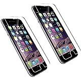 """2X Echt Glas Displayschutzfolie Panzerglas Folie für iPhone 6 plus Iphone 6S plus 5.5"""" (2 er Pack)"""