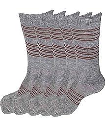 Alfa Jwala Mens Winter wear Socks - Pack of 5 (Assorted Color)