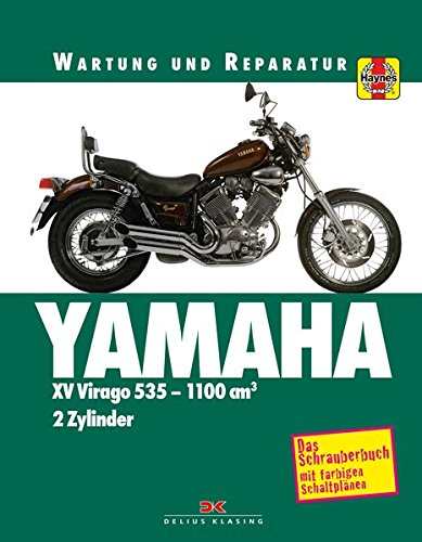 Yamaha XV Virago: Wartung und Reparatur. Print on Demand