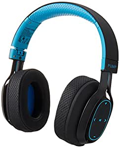 BlueAnt Pump Zone Bluetooth Wireless Sport Headphones - Blue