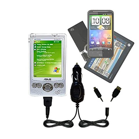 Gomadic Dual DC Vehicle Auto Mini Charger designed for the