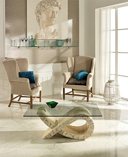 Stones+-+Tavolino+Fiocco+FS/082/M/A+White+Mactan