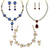 Best Necklace For Kids - Om Jewells Gold Plated Combo of 3 Exquisite Review