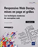 Telecharger Livres Responsive Web Design mises en page et grilles Les techniques modernes de conception web 2e edition (PDF,EPUB,MOBI) gratuits en Francaise