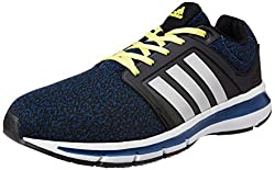 adidas Mens Yaris M Tecste, Shoyel, Cblack and Silv Running Shoes - 9 UK/India (43.33 EU)