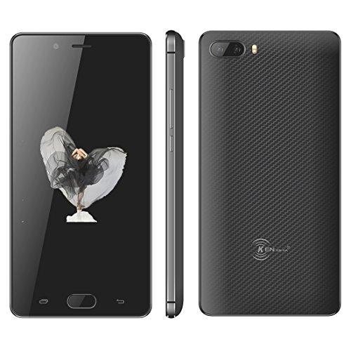 Generic - DA S7, 2GB+16GB, Dual Back Cameras, Fingerprint Identification, 5.0 inch Android 7.0 MTK6737 Quad Core up to 1.3GHz, Network: 4G, Dual SIM(Black)