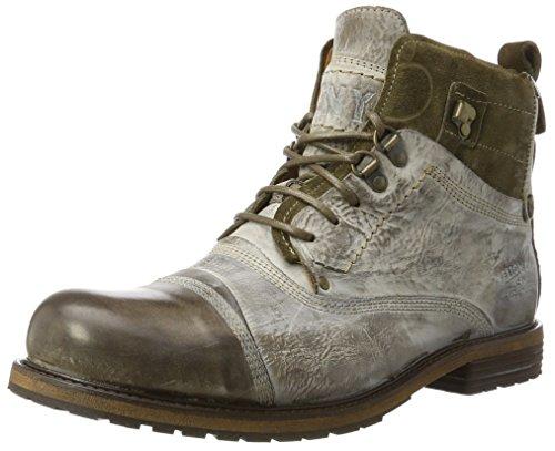 Yellow Cab SOLDIER M, Herren Biker Boots, Grün (Moss), 44 EU