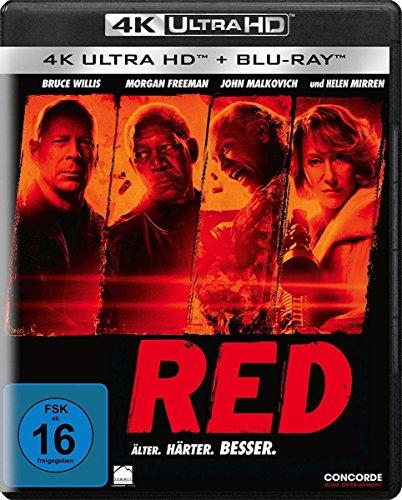 R.E.D. - Älter. Härter. Besser - Ultra HD Blu-ray [4k + Blu-ray Disc]