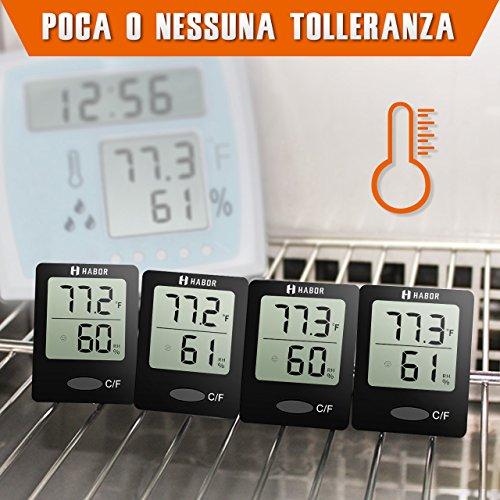 Zoom IMG-1 habor igrometro termometro digitale termoigrometro
