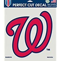 Washington Nationals Die-Cut Decal - 8Ft X8Ft Color