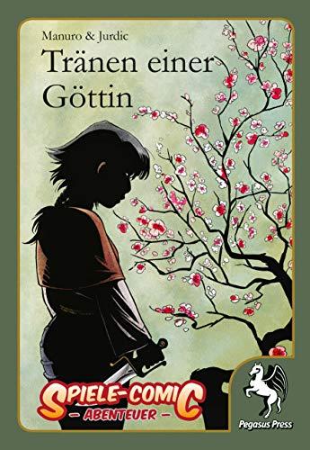 Buchseite und Rezensionen zu 'Spiele-Comic Abenteuer, Tränen einer Göttin' von Manuro
