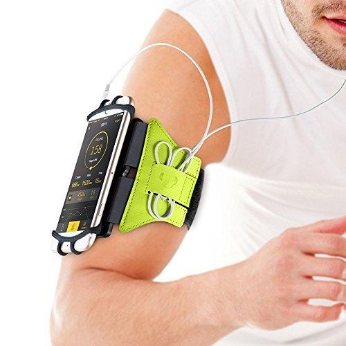 Aonkey Running Armband für iPhone X / 8 Plus / 8/7 Plus / 7 / 6S Plus / 6S / 6 / 5S / SE, 180 drehbare Sport Workout Handyhalter - Otterbox Fälle Iphone 5s