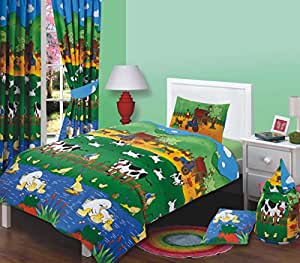 farmyard friends w rmflasche in gr e aufblasbares bett f r kinder bettbezug f r doppelbetten. Black Bedroom Furniture Sets. Home Design Ideas