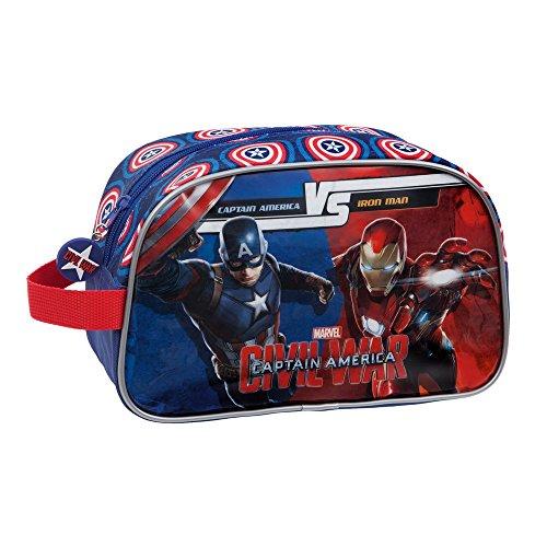 Marvel Versus Neceser de Viaje, 4.58 litros, Color Azul