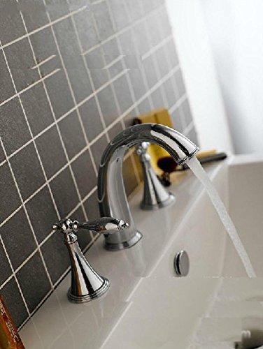 Preisvergleich Produktbild SADASD Waschbecken Wasserhahn Kupfer Einloch moderne Homelody Upscale Waschbecken Armaturen Waschtisch Armatur (Heiß amd Kalt)
