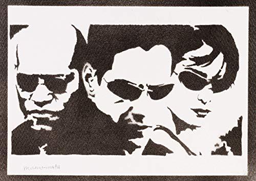 Trinity Brille - The Matrix Neo Trinity und Mopheus
