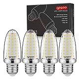 GEZEE E27 LED Ampoules de Maïs, 14W 1400LM, 120W Équivalent Ampoules à Incandescence, Blanc Neutred 4400K, AC 230V, Non Dimmable, Sans Scintillement(Pack de 4)