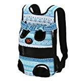 PengGengA Beine Out Vordere Hund Carrier Atmungsaktiv Haustier Hund Katze Tasche Rucksack Für Hunderucksack Für Kleine Hunde Und Katzen Blau 1 L