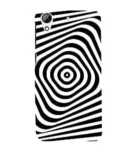 EPICCASE Flashback Mobile Back Case Cover For HTC Desire 626 (Designer Case)