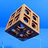 UP Aqua Ceramic Cube Barrier Hide Cave Aquarium Ornament- Spawning Breed Cichlid Decor