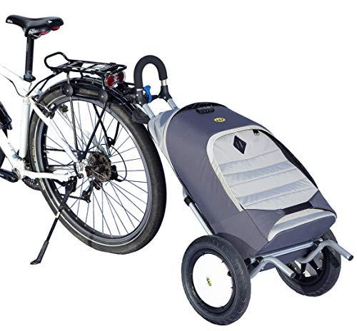 Weber Technik BikeBoy Fahrrad-Anhänger Set, Made in Germany, inklusive universal Kupplung