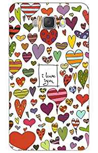 iessential love Designer Printed Back Case Cover for SAMSUNG Galaxy J7 2016