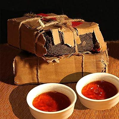 Ripe Pu Er Brick 250g Plus ancien Puer Tea Miel Sweet Dull-rouge Puerh Tea Thé noir Thé Pu'er Thé chinois Thé à thé Thé mûr Shu Cha Nourriture saine Thé Pu-erh Nourriture verte Vieux arbres Thé Puh thé cuit Thé rouge