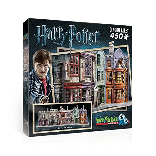 HARRY POTTER Puzzle 3D Diorama EL CALLEJON DIAGON Alley 450 PIEZAS Oficial