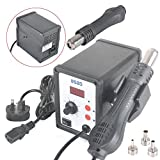 Best Hot Air Guns - New Rayinblue 858D SMD Led Digital Display Soldering Review