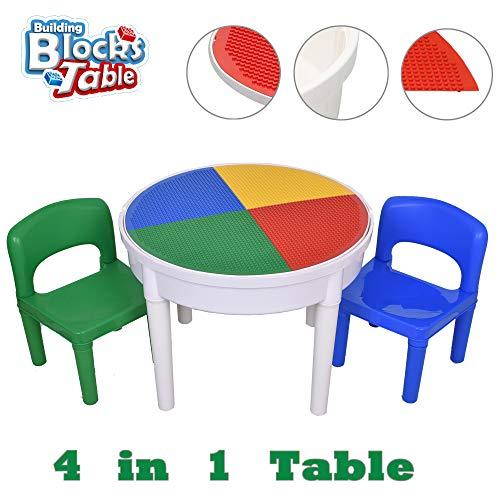 SEIGNEER 4 en1 Enfant Table et 2...