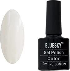 Bluesky UV LED Gel auflösbarer Nagellack 10ml Cream Puff, 1er Pack (1 x 10 ml)