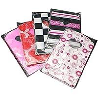 PandaHall-Las bolsas de plástico de embalaje, material del PE, color mixto, 145x85x60mm